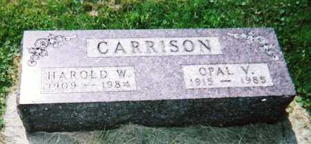 PEARSON CARRISON, OPAL VERA - Mitchell County, Iowa | OPAL VERA PEARSON CARRISON