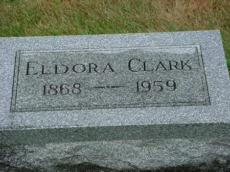 CLARK, ELDORA - Mitchell County, Iowa | ELDORA CLARK