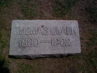 CLARK, THOMAS - Mitchell County, Iowa | THOMAS CLARK