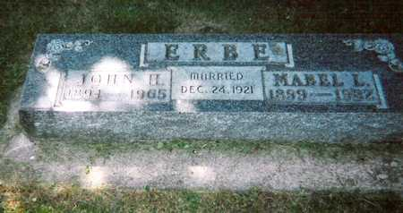 WHERRY ERBE, MABEL LUCILE - Mitchell County, Iowa | MABEL LUCILE WHERRY ERBE