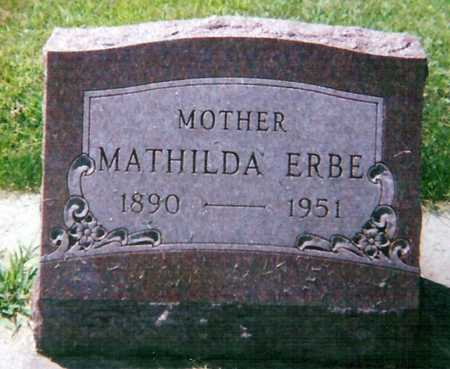 ERBE, MATHILDA - Mitchell County, Iowa | MATHILDA ERBE