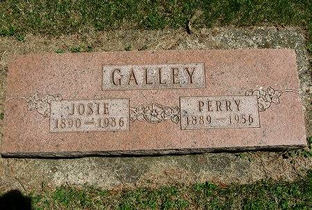 GALLEY, JOSIE ELMEDA - Mitchell County, Iowa | JOSIE ELMEDA GALLEY