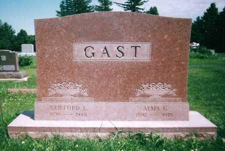 GAST, ALMA GERTINE - Mitchell County, Iowa | ALMA GERTINE GAST