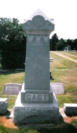 GAST, FAMILY STONE - Mitchell County, Iowa | FAMILY STONE GAST