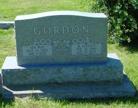 GORDON, M. LUELLYN - Mitchell County, Iowa | M. LUELLYN GORDON