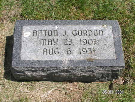 GORDON, ANTON J. - Mitchell County, Iowa | ANTON J. GORDON