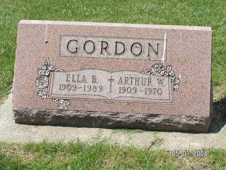 GORDON, ARTHUR WILHELM - Mitchell County, Iowa | ARTHUR WILHELM GORDON
