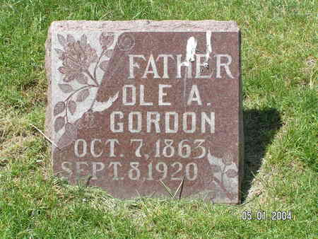 GORDON, OLE A. - Mitchell County, Iowa | OLE A. GORDON