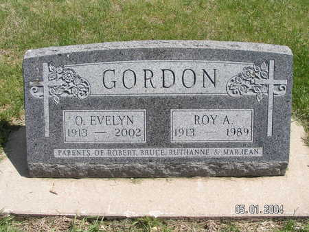 GORDON, ROY ARNOLD - Mitchell County, Iowa | ROY ARNOLD GORDON