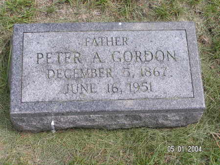 GORDON, PETER A. - Mitchell County, Iowa | PETER A. GORDON