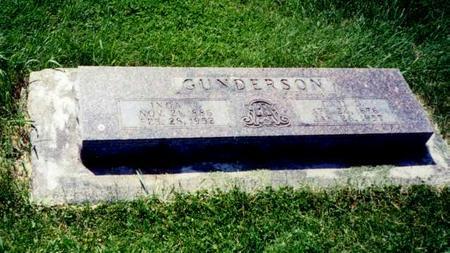 GUNDERSON, CARL GUSTAV - Mitchell County, Iowa | CARL GUSTAV GUNDERSON