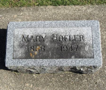 HOFLER, MARY - Mitchell County, Iowa | MARY HOFLER