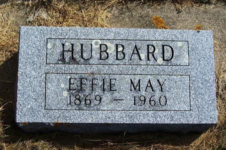 SPRAGUE HUBBARD, EFFIE - Mitchell County, Iowa | EFFIE SPRAGUE HUBBARD