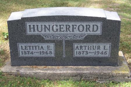 HUNGERFORD, ARTHUR - Mitchell County, Iowa | ARTHUR HUNGERFORD