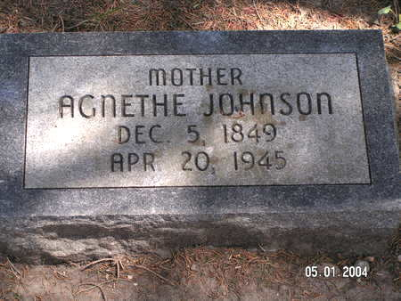 JOHNSON, AGNETHE - Mitchell County, Iowa | AGNETHE JOHNSON