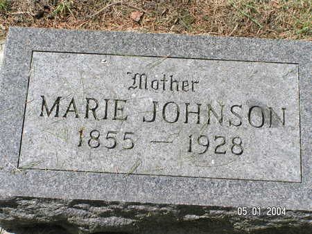 JOHNSON, MARIE - Mitchell County, Iowa | MARIE JOHNSON