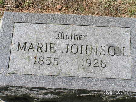 JOHNSON, MARIE - Mitchell County, Iowa | MARIE JOHNSON