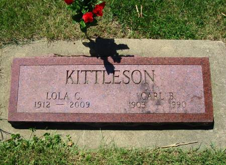 KITTLESON, CARL B. - Mitchell County, Iowa | CARL B. KITTLESON