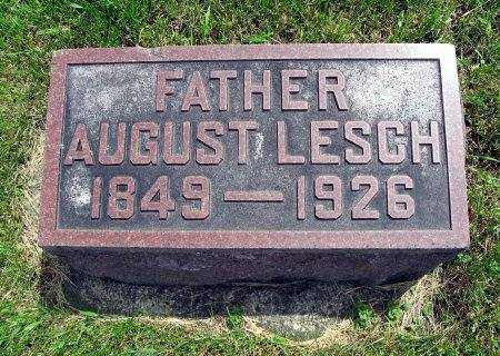LESCH, AUGUST - Mitchell County, Iowa | AUGUST LESCH