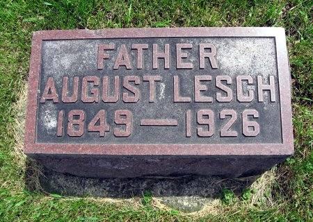 LESCH, AUGUST - Mitchell County, Iowa | AUGUST LESCH