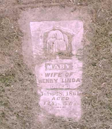 LINDA, MARY - Mitchell County, Iowa | MARY LINDA