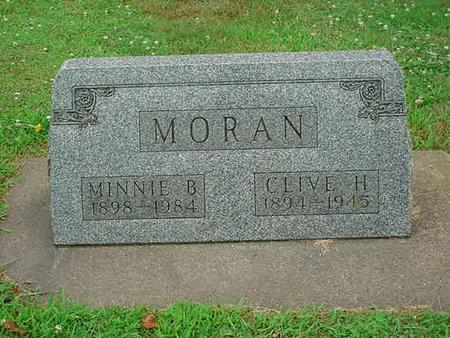CLARK MORAN, MINNIE BELL - Mitchell County, Iowa | MINNIE BELL CLARK MORAN