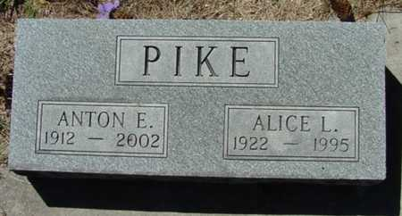 PIKE, ANTON E. - Mitchell County, Iowa | ANTON E. PIKE