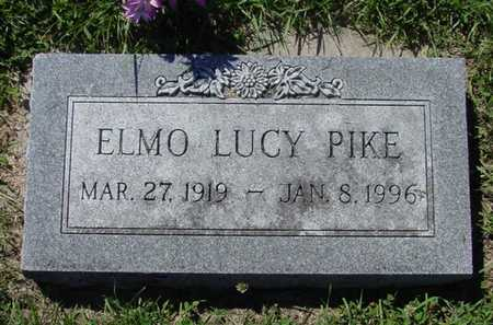 PIKE, ELMO LUCY - Mitchell County, Iowa | ELMO LUCY PIKE