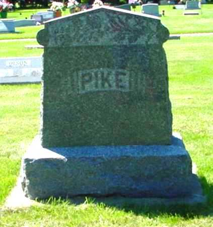 PIKE, FAMILY STONE - Mitchell County, Iowa | FAMILY STONE PIKE