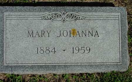 PIKE, MARY JOHANNA - Mitchell County, Iowa | MARY JOHANNA PIKE
