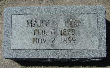 PIKE, MARY E. - Mitchell County, Iowa | MARY E. PIKE