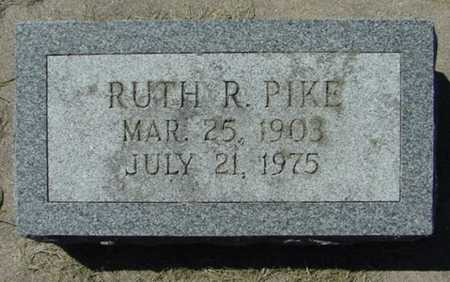 PIKE, RUTH R. - Mitchell County, Iowa | RUTH R. PIKE