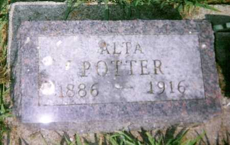 POTTER, ALTA - Mitchell County, Iowa | ALTA POTTER
