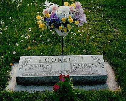 ROBINSON CORELL, LUCILLE MILDRED - Mitchell County, Iowa | LUCILLE MILDRED ROBINSON CORELL