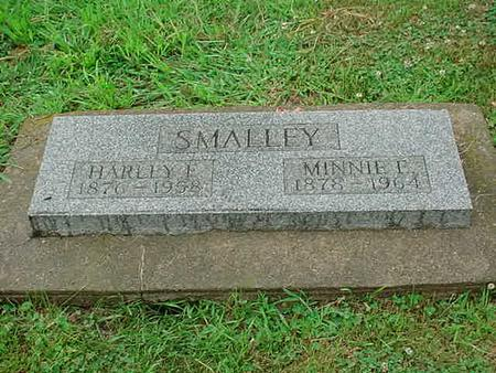 SMALLEY, MINNIE E. - Mitchell County, Iowa | MINNIE E. SMALLEY