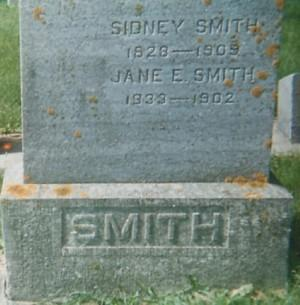 SMITH, JANE E. - Mitchell County, Iowa | JANE E. SMITH