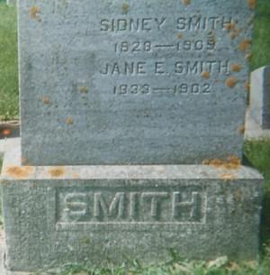 SMITH, SIDNEY - Mitchell County, Iowa | SIDNEY SMITH