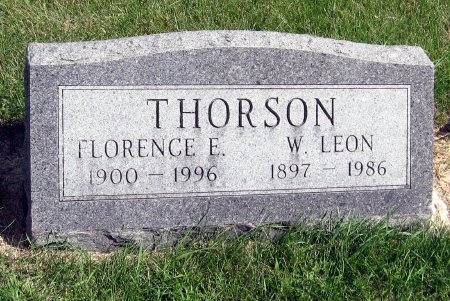 THORSON, FLORENCE E. - Mitchell County, Iowa | FLORENCE E. THORSON