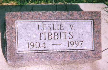TIBBITS, LESLIE - Mitchell County, Iowa | LESLIE TIBBITS