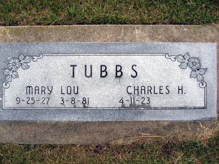 TUBBS, MARY LOU (BARNES) - Mitchell County, Iowa | MARY LOU (BARNES) TUBBS