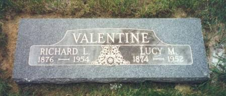 VALENTINE, RICHARD LOUIS - Mitchell County, Iowa | RICHARD LOUIS VALENTINE