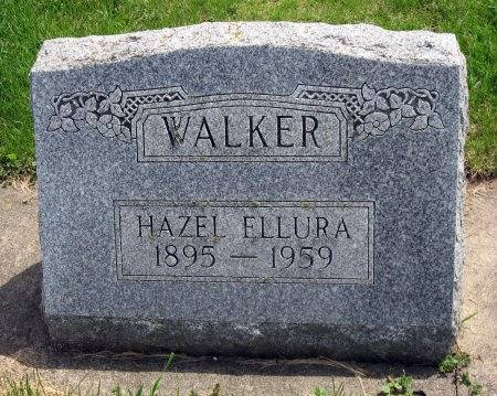 WALKER, HAZEL ELLURA - Mitchell County, Iowa | HAZEL ELLURA WALKER
