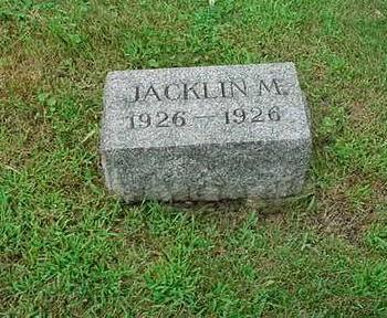 WARRINGTON, JACKLIN M. - Mitchell County, Iowa | JACKLIN M. WARRINGTON