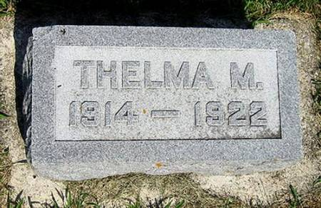 WATERS, THELMA MINNIE  - Mitchell County, Iowa | THELMA MINNIE  WATERS
