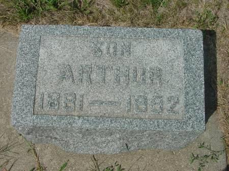WHITTIER, ARTHUR - Monona County, Iowa | ARTHUR WHITTIER