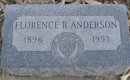 ANDERSON, FLORENCE R. - Monona County, Iowa | FLORENCE R. ANDERSON