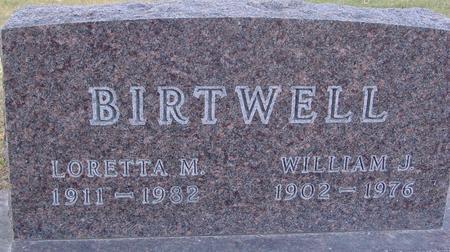 BIRTWELL, WILLIAM &  LORETTA M. - Monona County, Iowa   WILLIAM &  LORETTA M. BIRTWELL