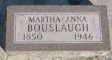 BOUSLAUGH, MARTHA ANN - Monona County, Iowa | MARTHA ANN BOUSLAUGH