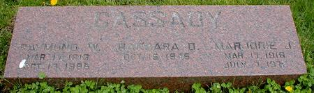 CASSADY, BARBARA D., RAYMOND W.,  MARJORIE J. - Monona County, Iowa | BARBARA D., RAYMOND W.,  MARJORIE J. CASSADY