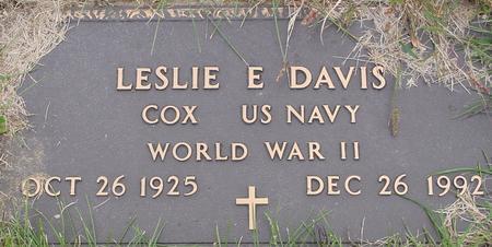 DAVIS, LESLIE E. - Monona County, Iowa | LESLIE E. DAVIS